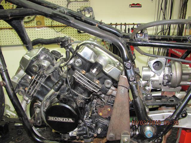 Finishing Exhaust Headers