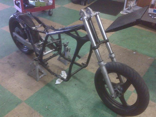Honda Frame Suzuki Swing Arm and Forks