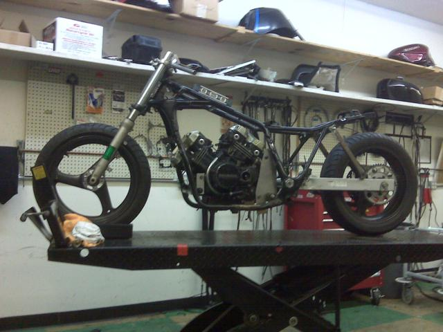It's A Rolling Chassis