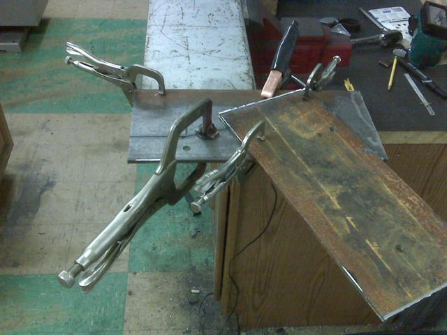 Fabricating Up Motor Mounts